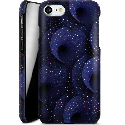 Apple iPhone 7 Smartphone Huelle - Spiral Pattern von Danny Ivan