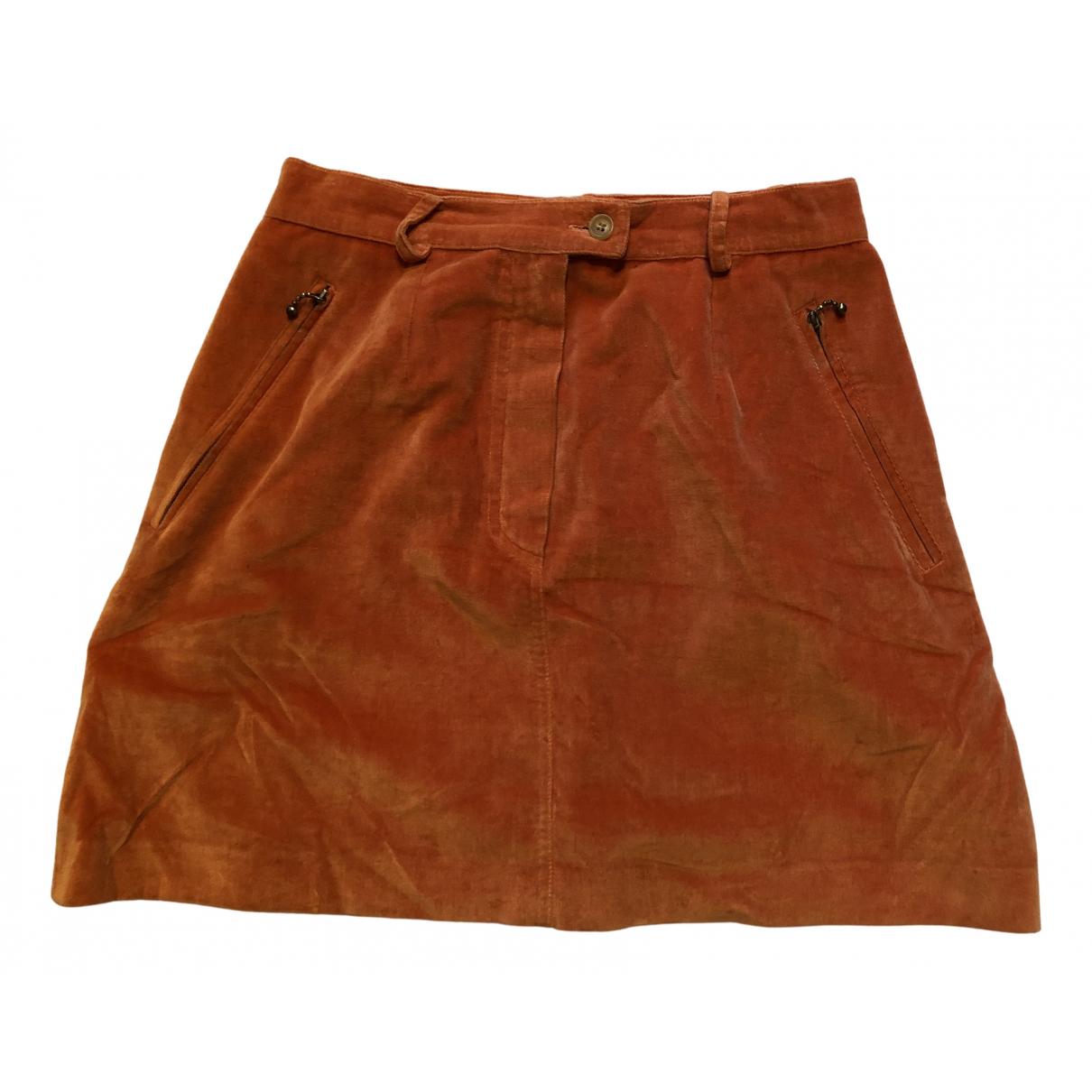 Etro \N Rocke in  Orange Baumwolle