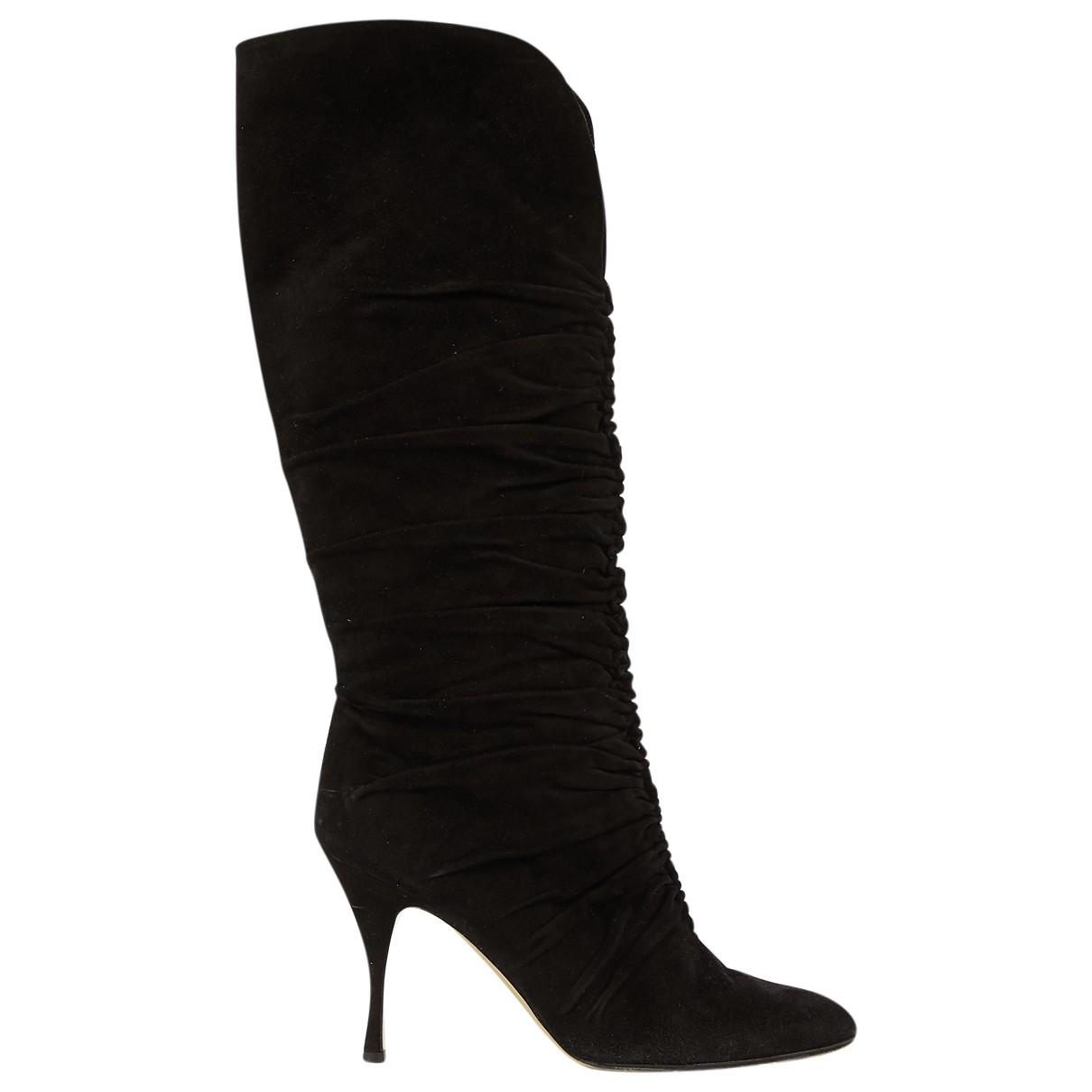 Dolce & Gabbana \N Black Suede Boots for Women 41 EU