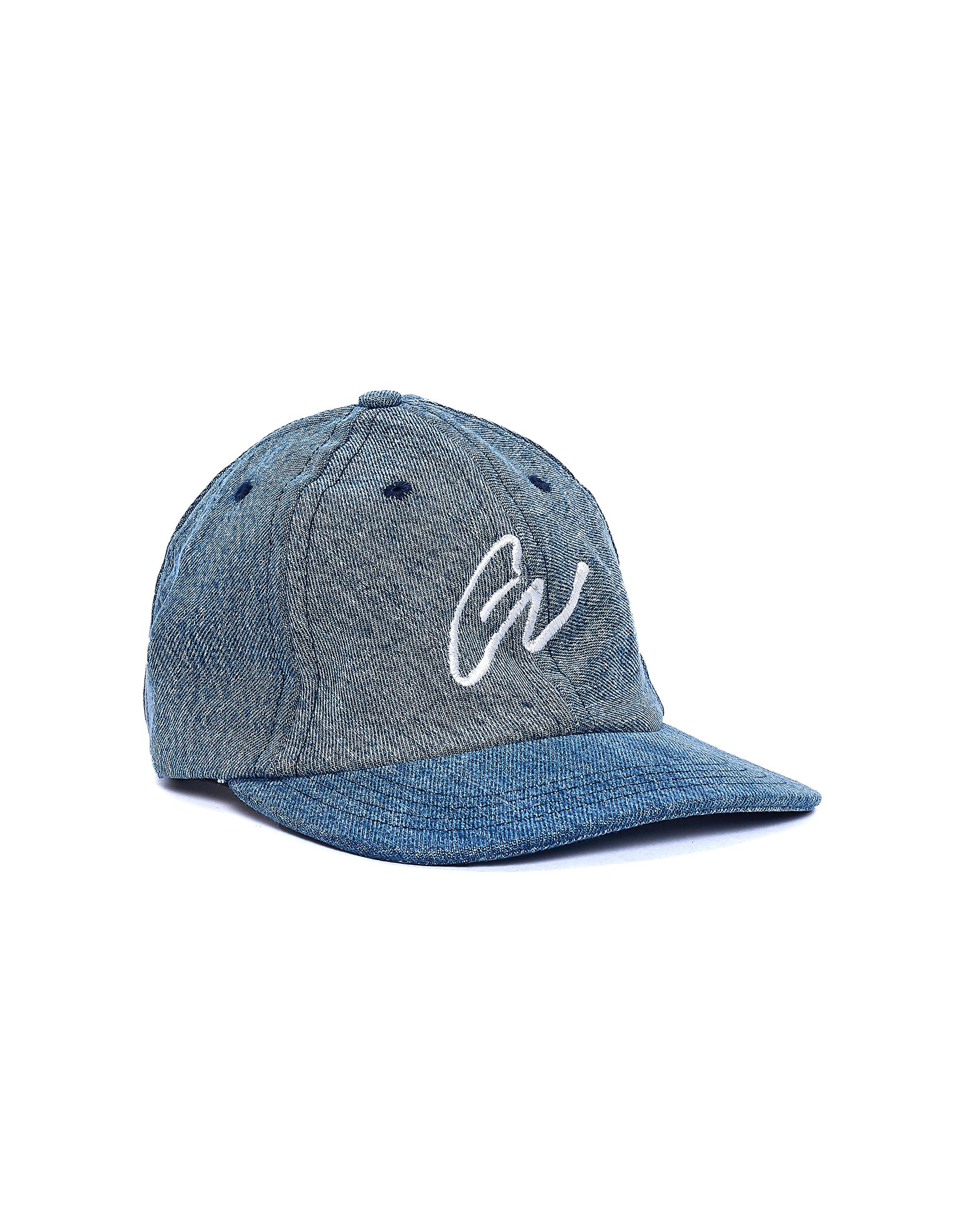 Greg Lauren Blue Denim GL Cap