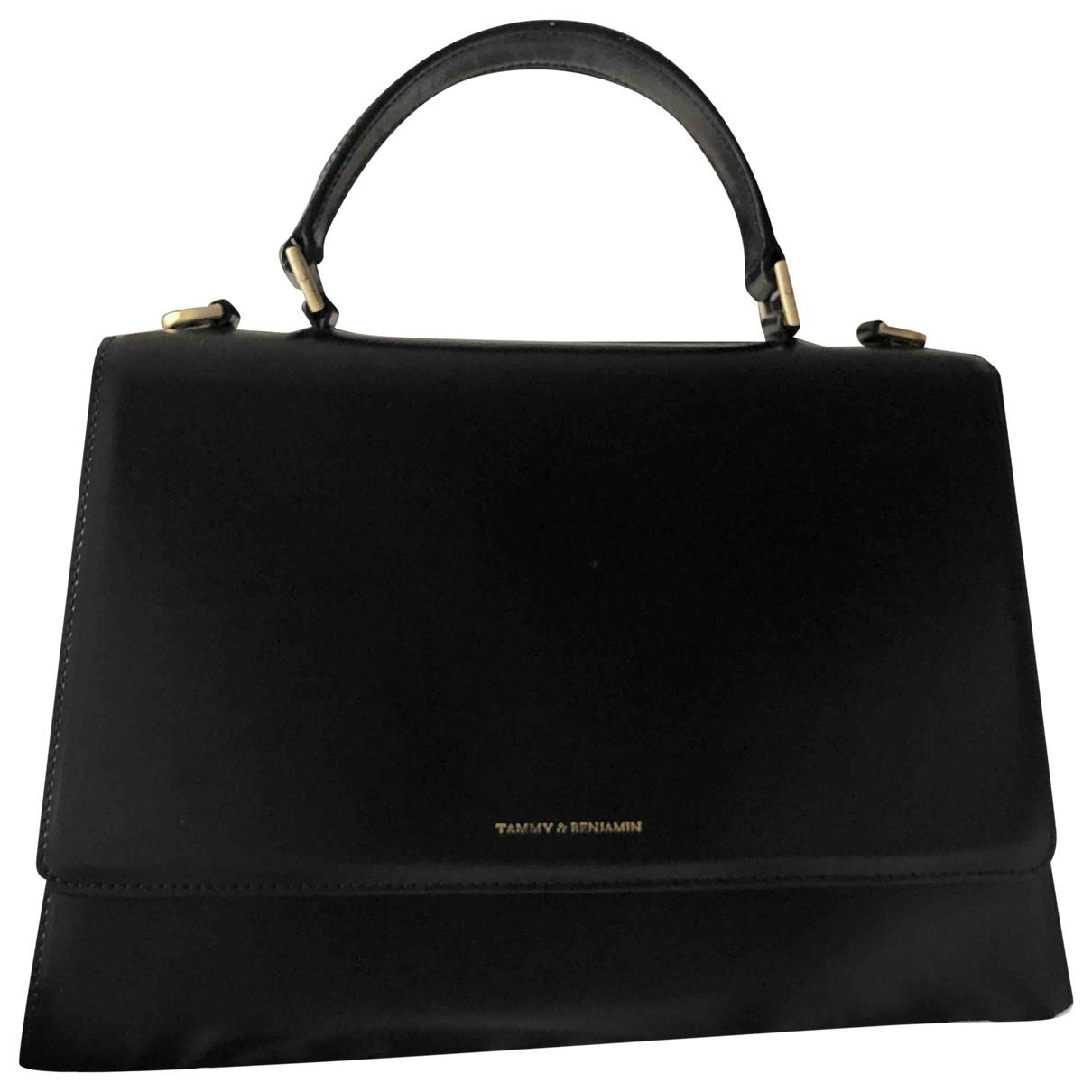 Tammy And Benjamin \N Black Leather handbag for Women \N
