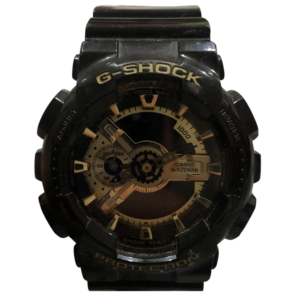 G-shock \N Uhr in  Schwarz Stahl