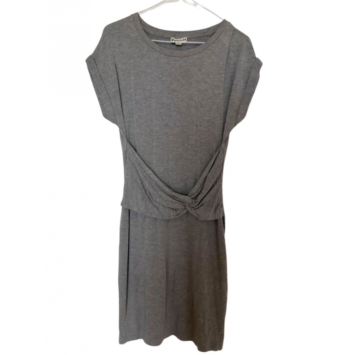 Whistles \N Grey Cotton dress for Women 8 UK