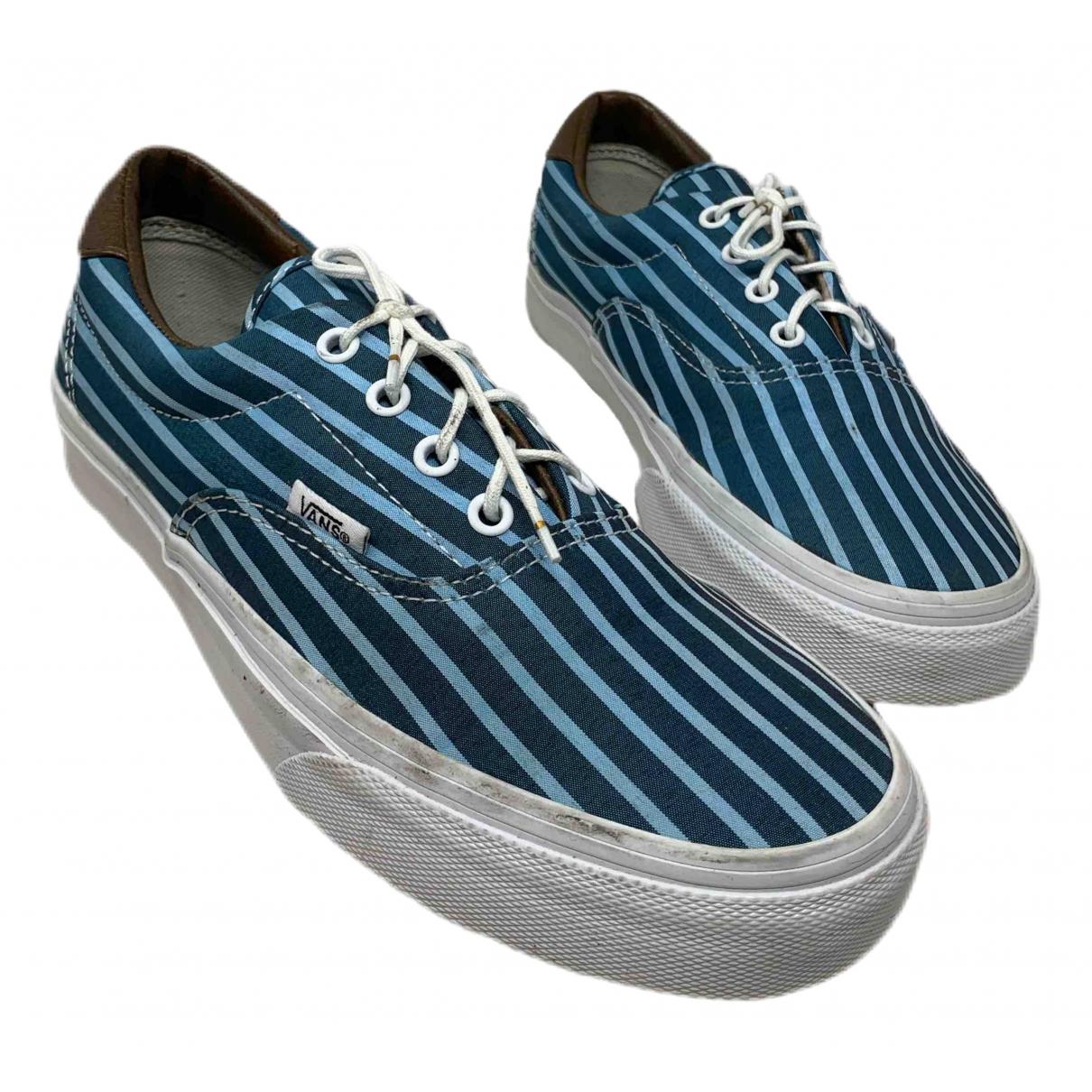 Vans N Blue Cloth Trainers for Men 6 US