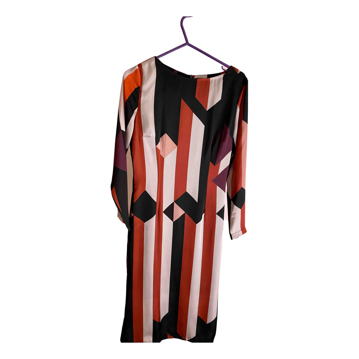 Stefania Vaidani \N Kleid in  Bunt Polyester