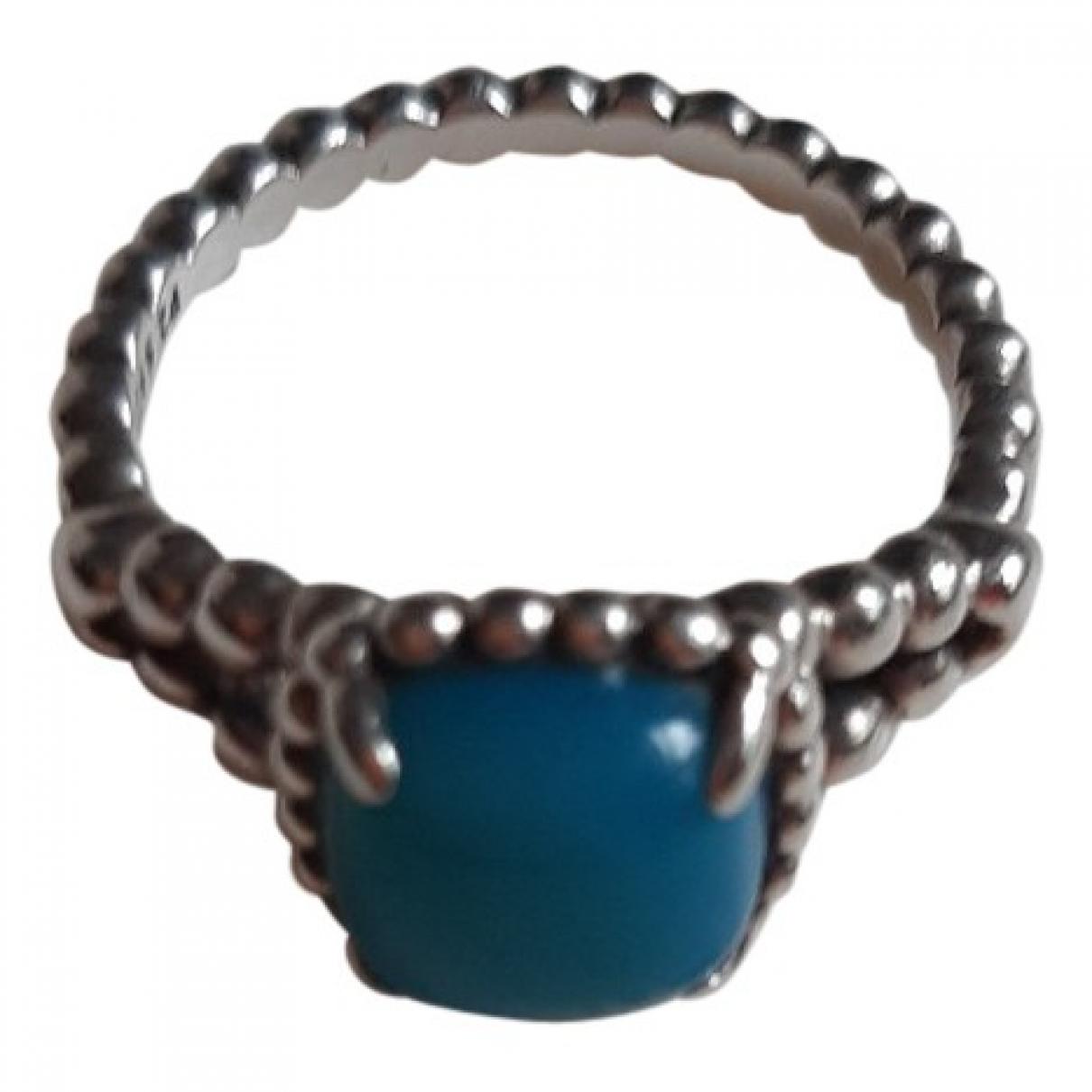 Pandora \N Ring in  Tuerkis Silber
