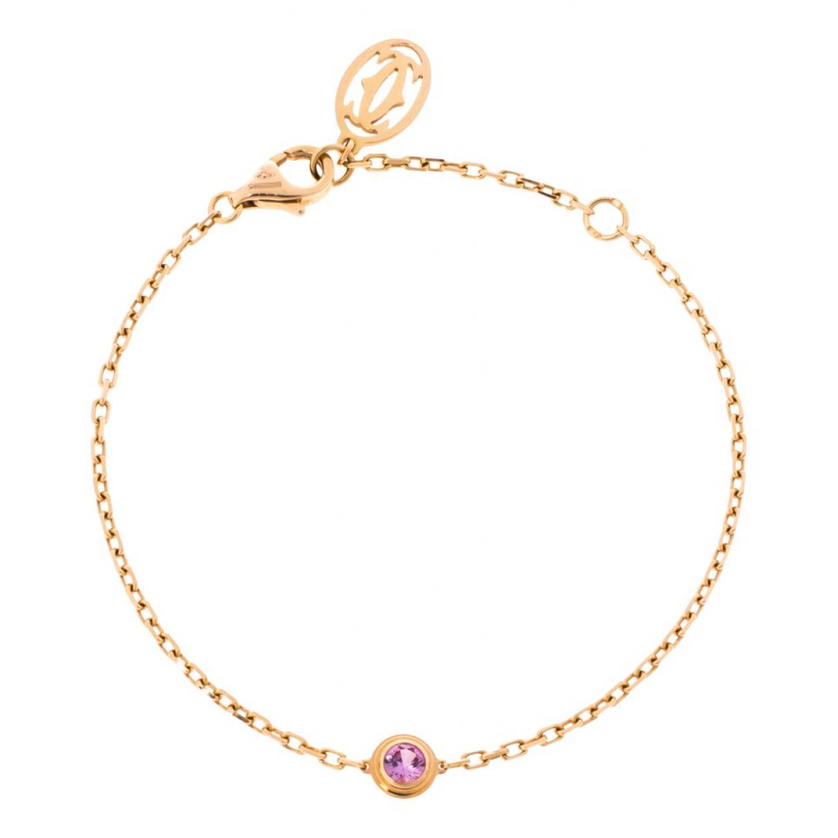 Cartier - Bracelet   pour femme en or rose