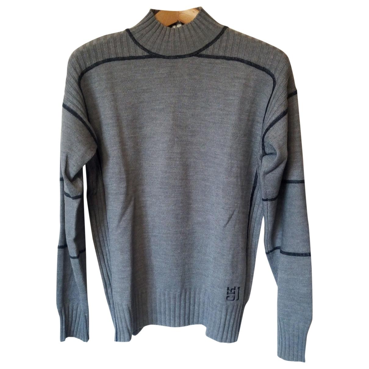 Calvin Klein \N Pullover.Westen.Sweatshirts  in  Grau Wolle