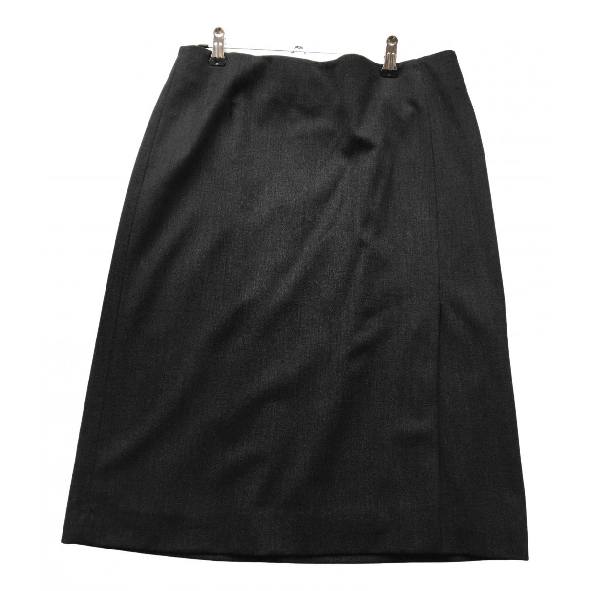 Nicole Farhi \N Grey Wool skirt for Women 14 UK