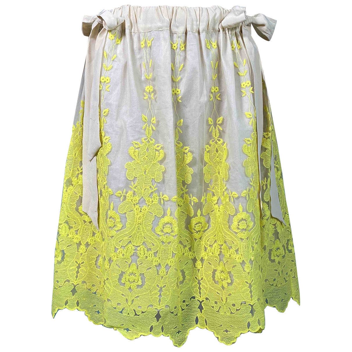 Falda midi de Seda Hoss Intropia