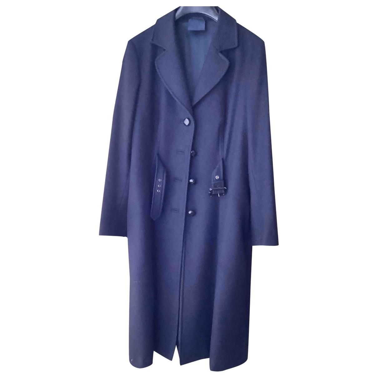 Aspesi \N Blue Wool coat for Women 40 IT