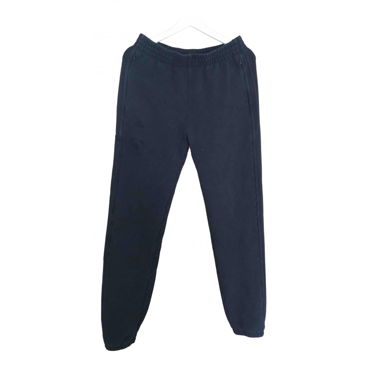 Yeezy X Adidas \N Black Cotton Trousers for Women M International