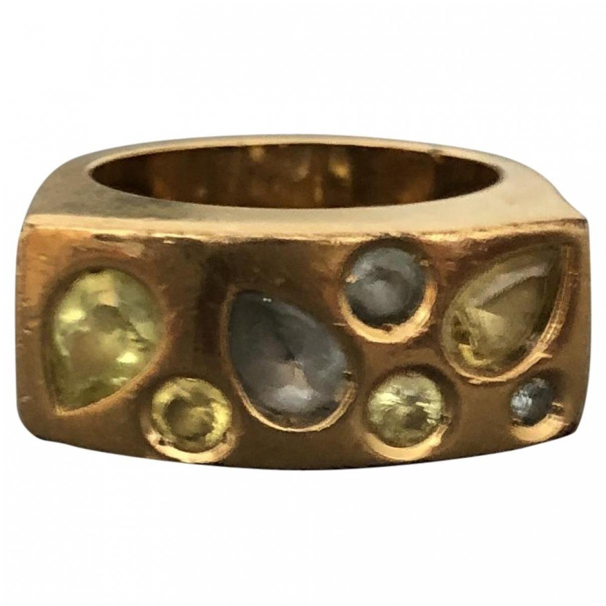 Non Signe / Unsigned \N Ring in  Gold Vergoldet