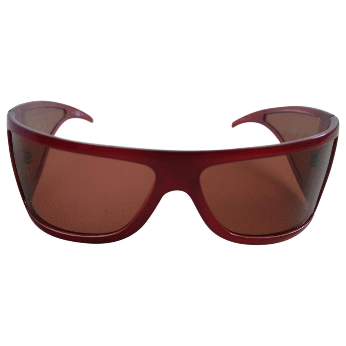 Gianfranco Ferré \N Burgundy Sunglasses for Women \N