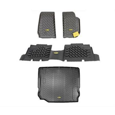 Bestop Floor Liner Package (Black) - FLJK41113B
