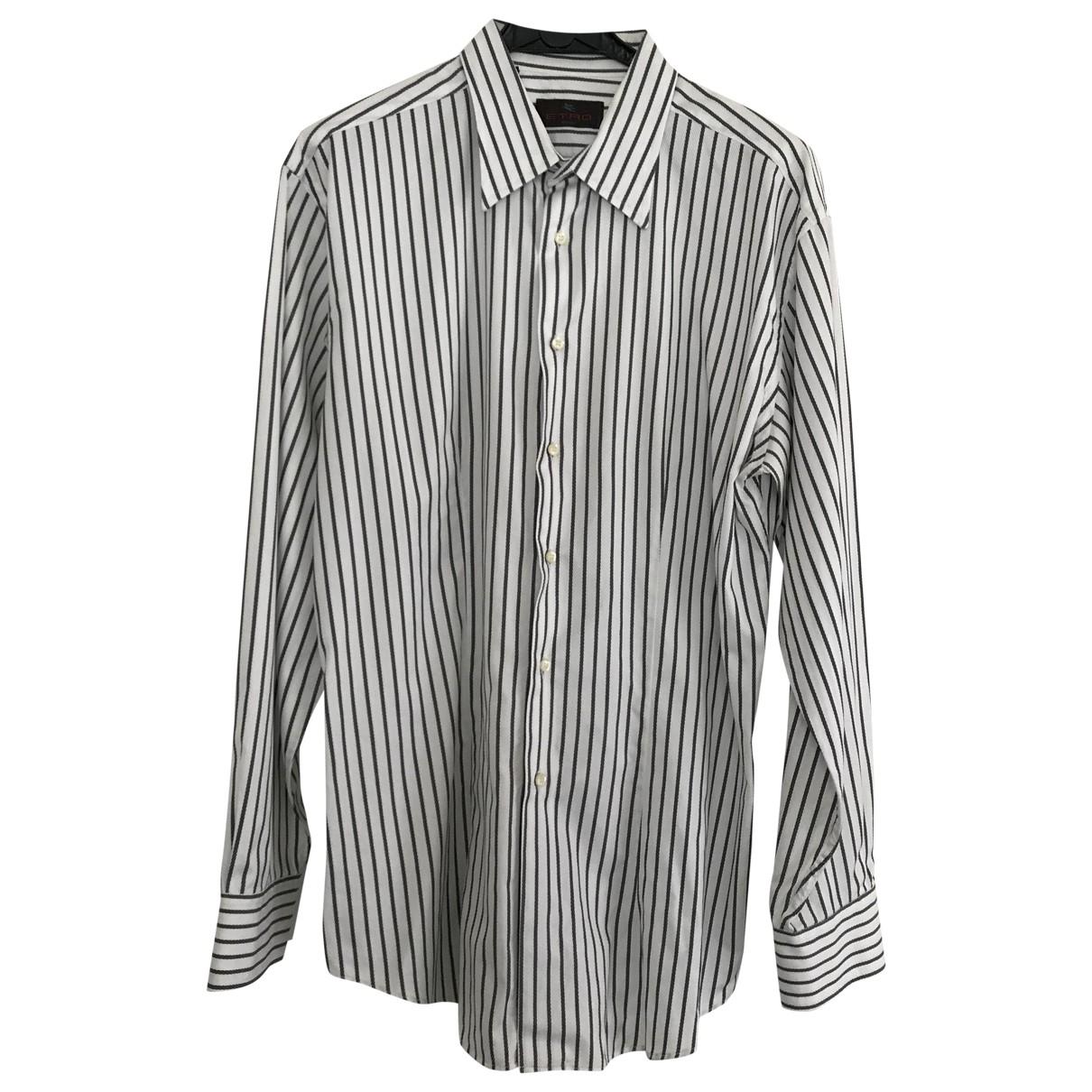 Etro \N Hemden in  Weiss Baumwolle