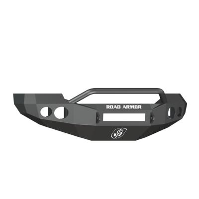 Road Armor Stealth Front Non-Winch Bumper with Pre-Runner Guard (Texture Black) - 60504B-NW