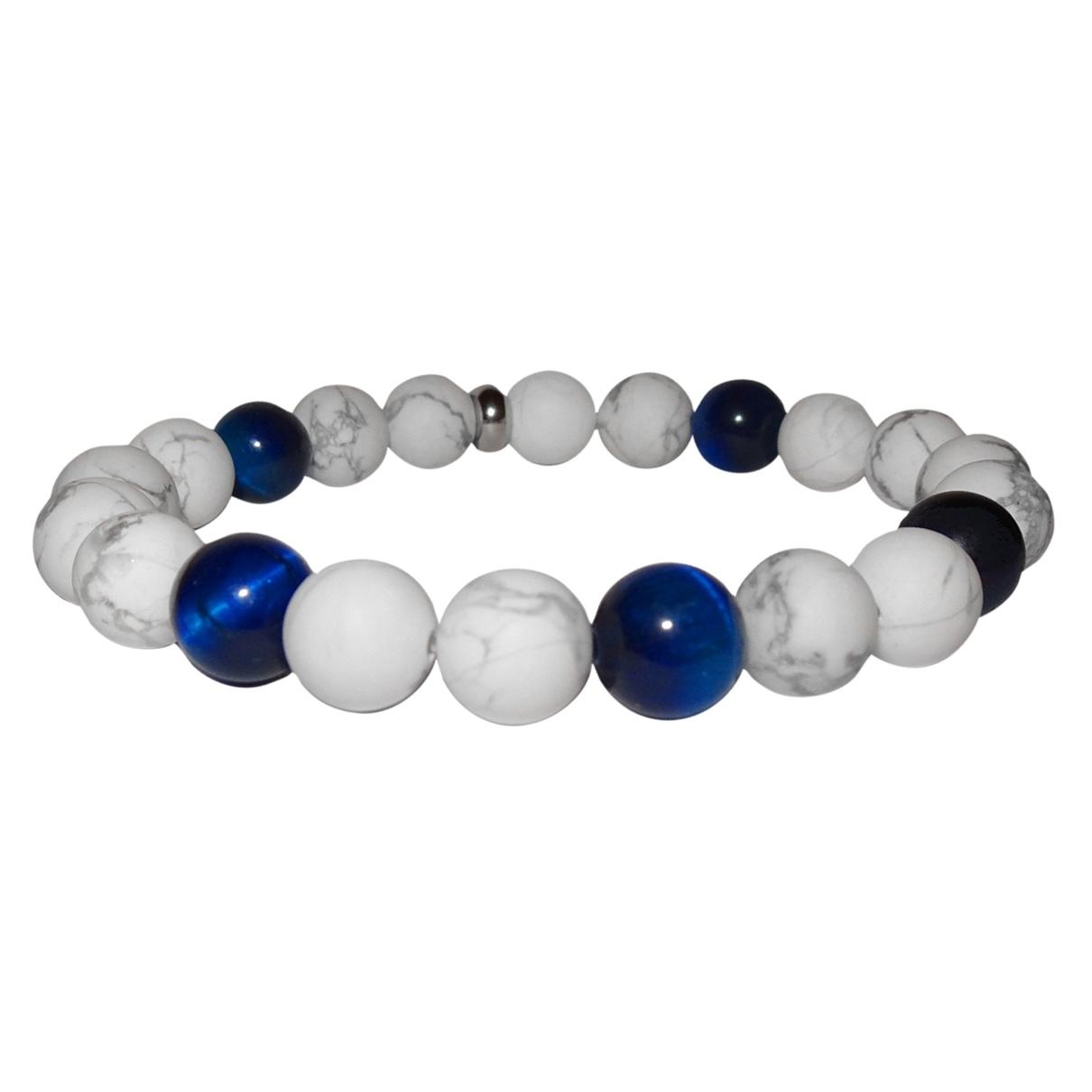 Non Signe / Unsigned \N Armband Blau