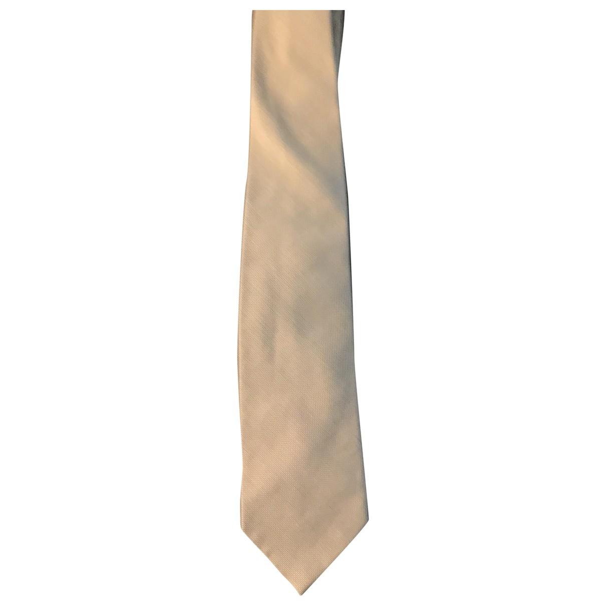 Gucci - Cravates   pour homme en coton - ecru