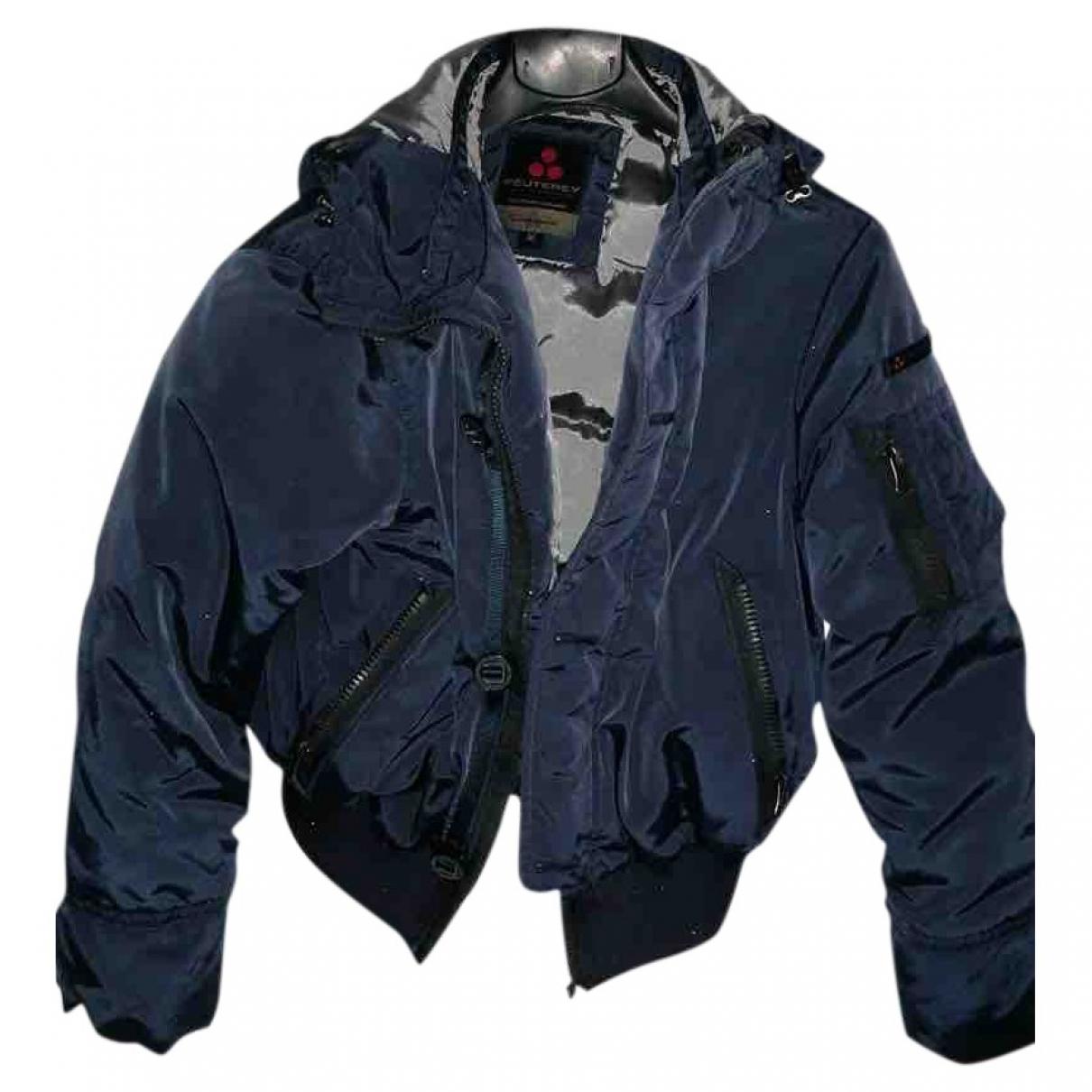 Peuterey \N Blue jacket & coat for Kids 16 years - M UK