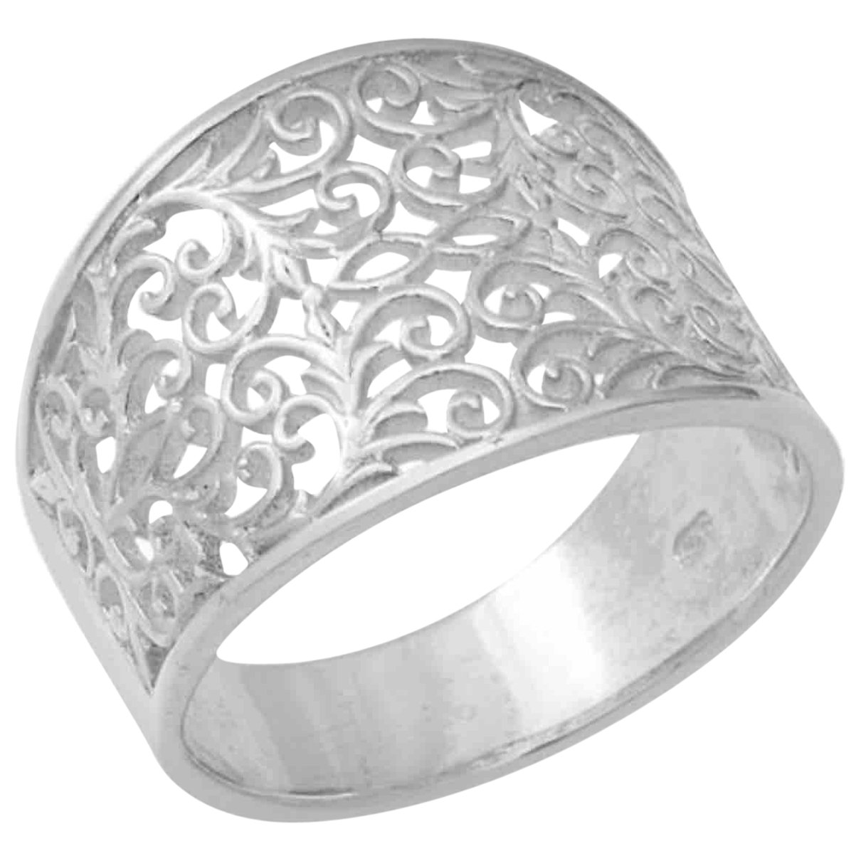 Non Signé / Unsigned \N Silver Silver ring for Women R UK
