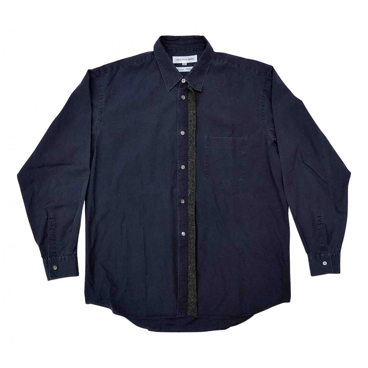 Comme Des Garcons N Blue Cotton Shirts for Men M International