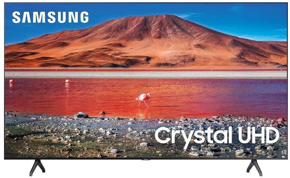 Samsung 75-in TU7000 Crystal UHD 4K Smart TV UN75TU7000FXZA (2020)