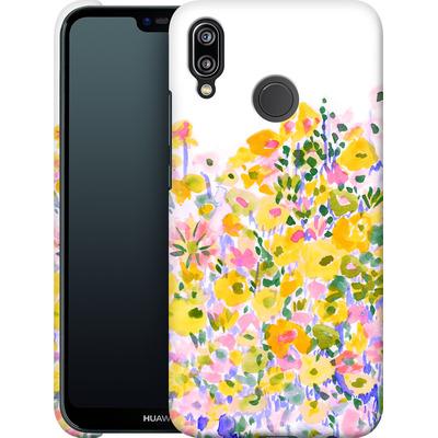 Huawei P20 Lite Smartphone Huelle - Flower Fields Sunshine von Amy Sia