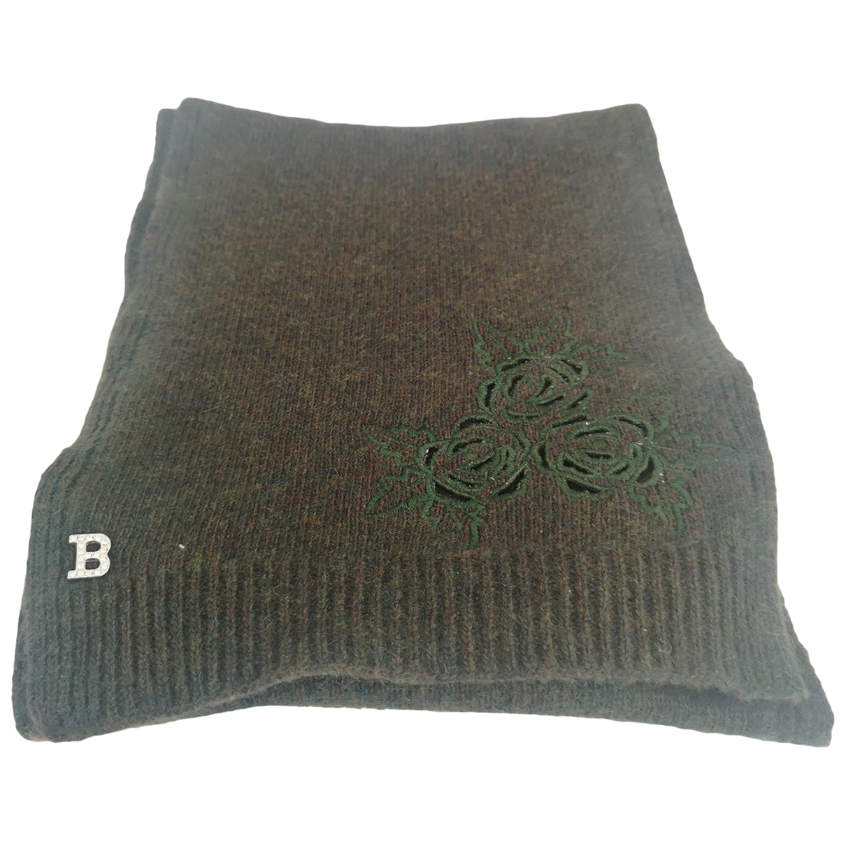 Blumarine N Green Wool scarf for Women N