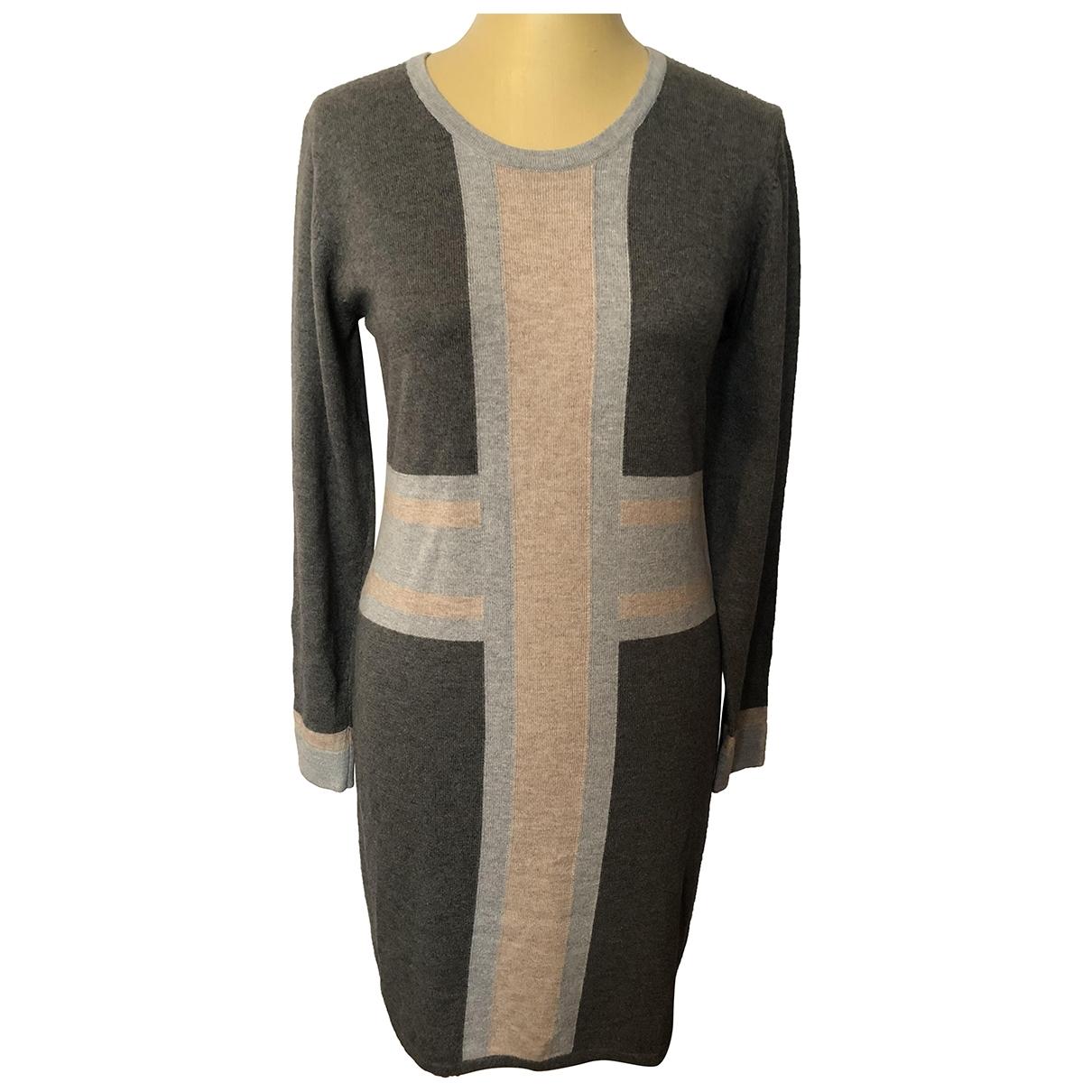 Rodier \N Grey Wool dress for Women 38 FR
