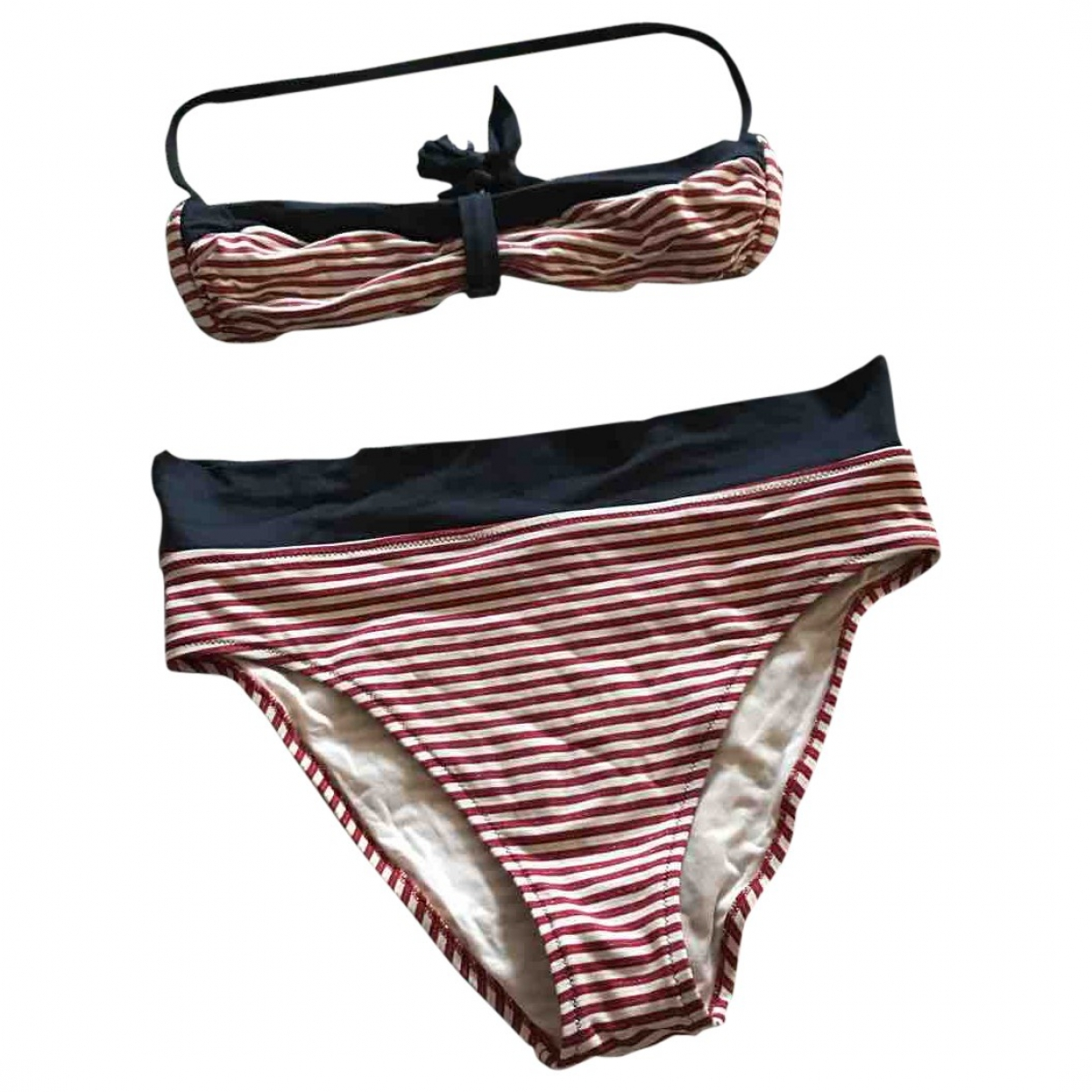 Non Signé / Unsigned \N Red Cotton Swimwear for Women M International
