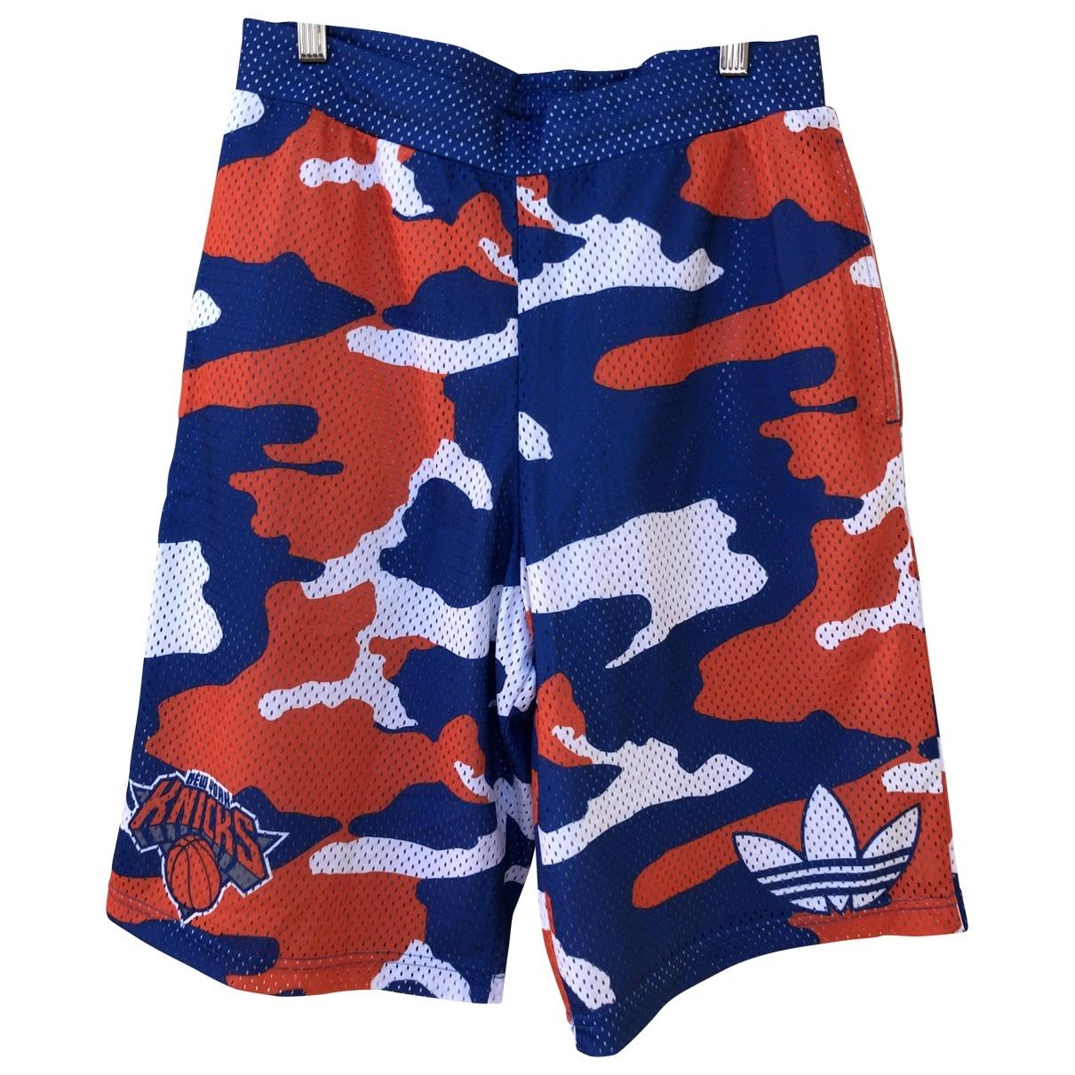 Adidas \N Shorts in  Blau Polyester