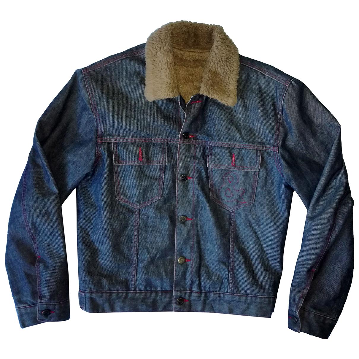 Dolce & Gabbana - Vestes.Blousons   pour homme en denim - bleu