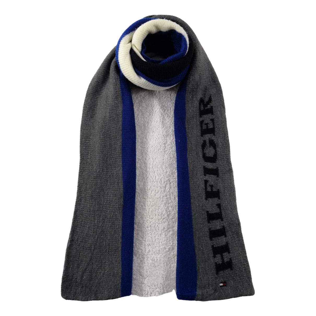 Tommy Hilfiger \N Schal in  Blau Wolle