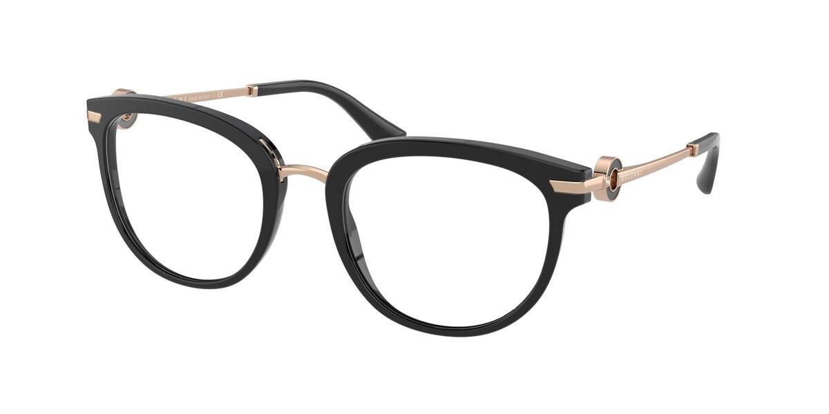 Bvlgari BV4195B 501 Women's Glasses Black Size 53 - Free Lenses - HSA/FSA Insurance - Blue Light Block Available
