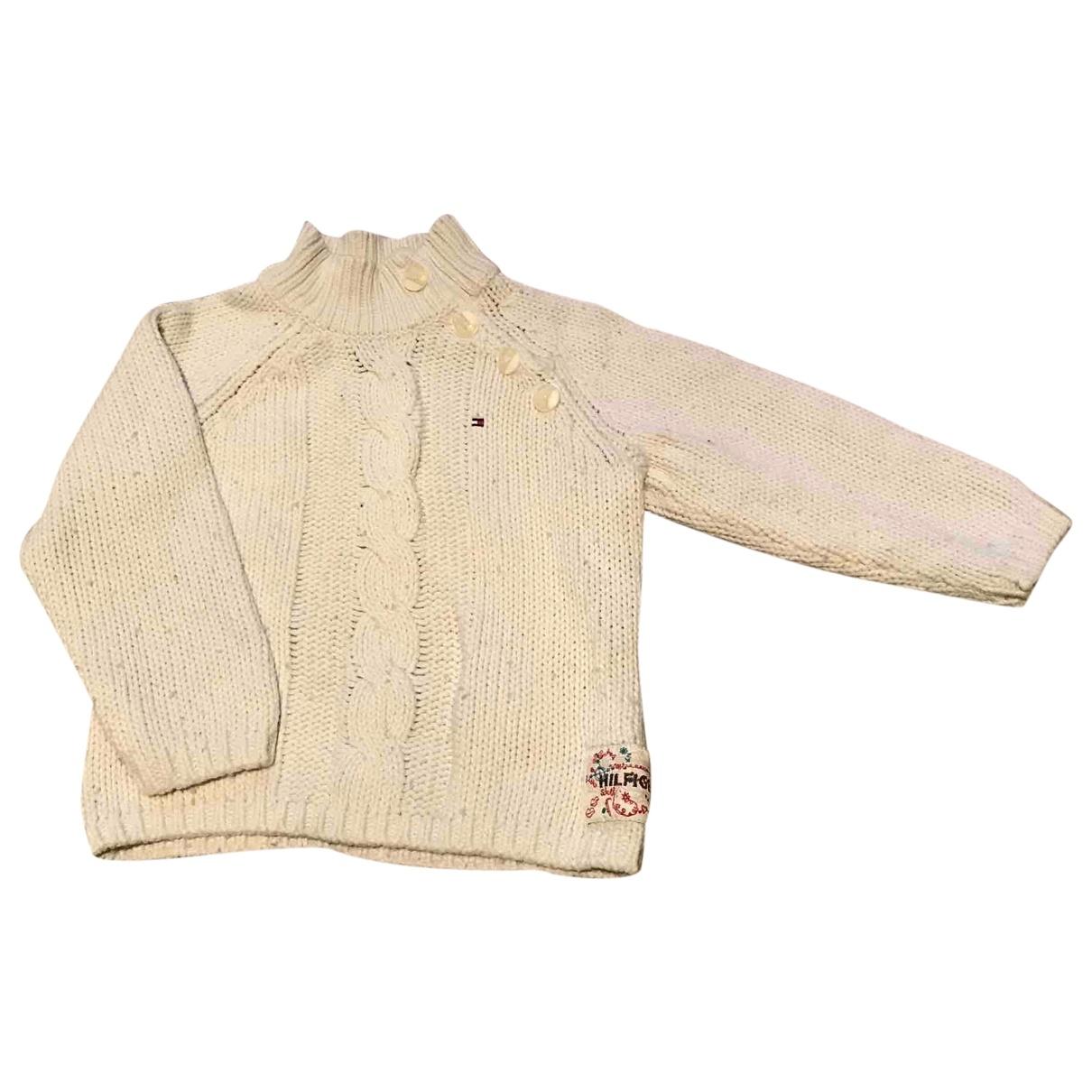 Tommy Hilfiger - Pull   pour enfant en coton - beige