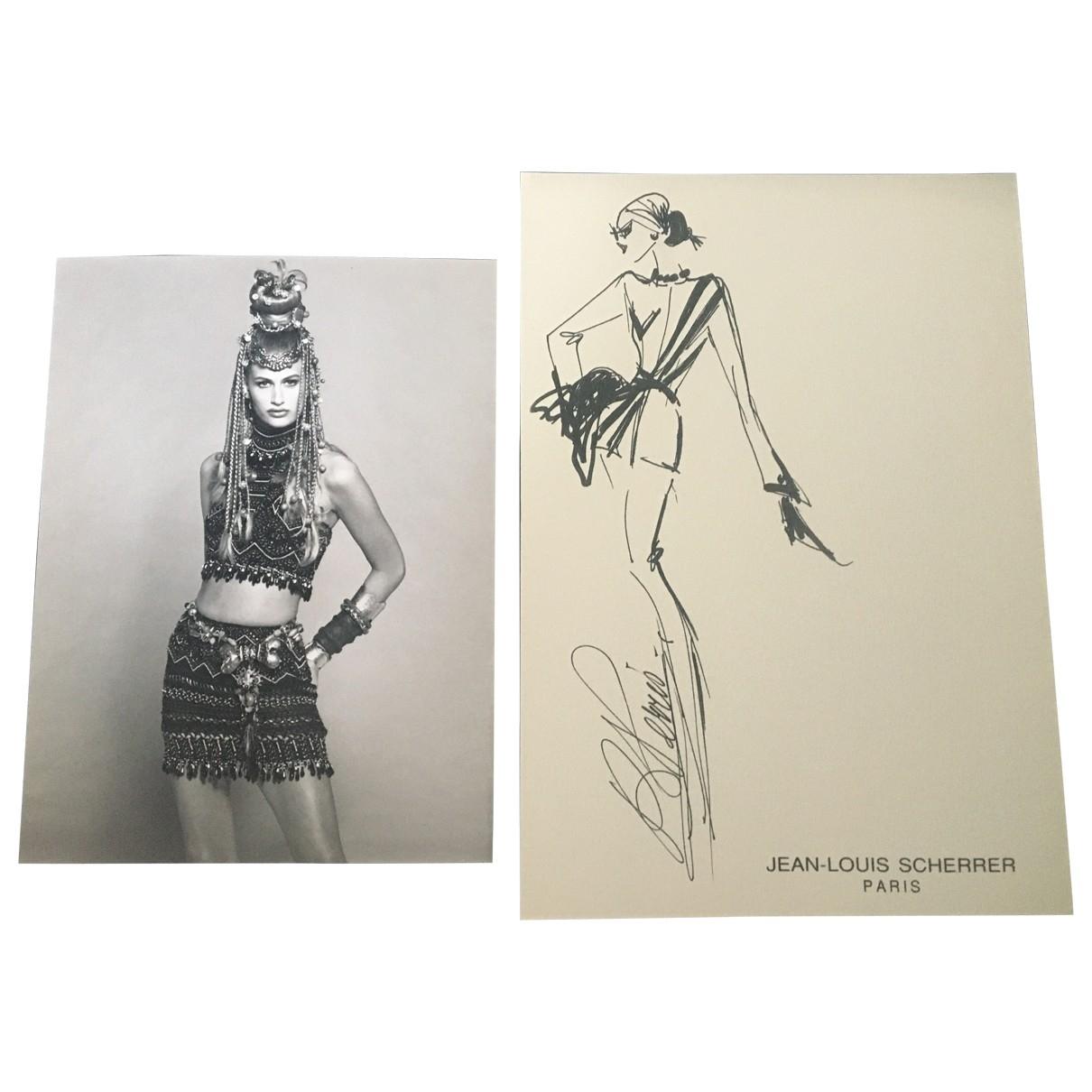 Jean-louis Scherrer \N Black Fashion for Life & Living \N