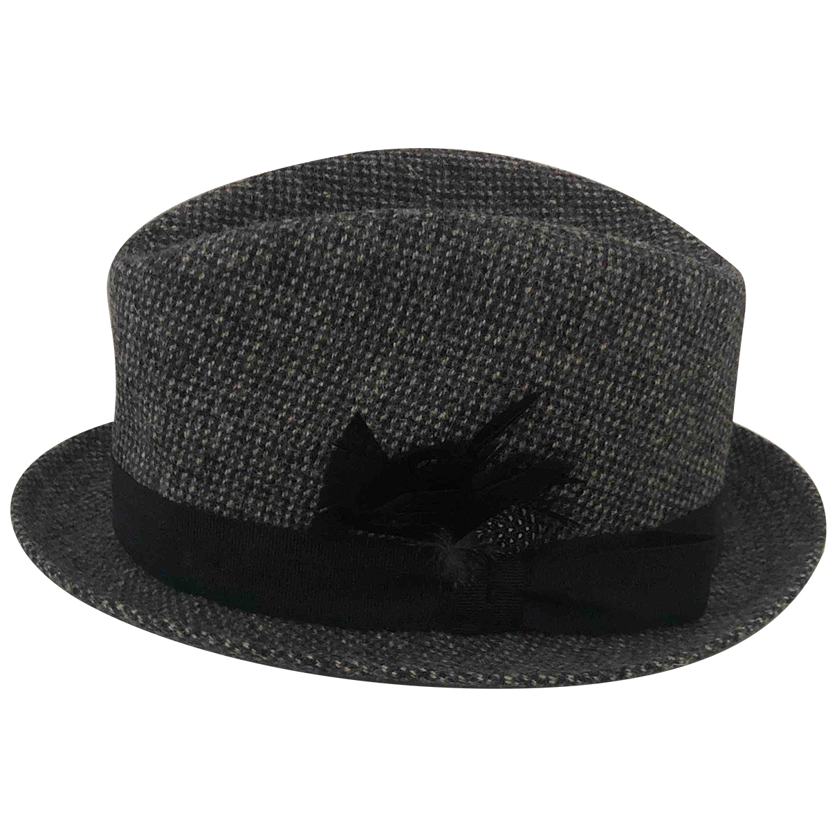 Paul Smith N Anthracite Wool hat & pull on hat for Men L International