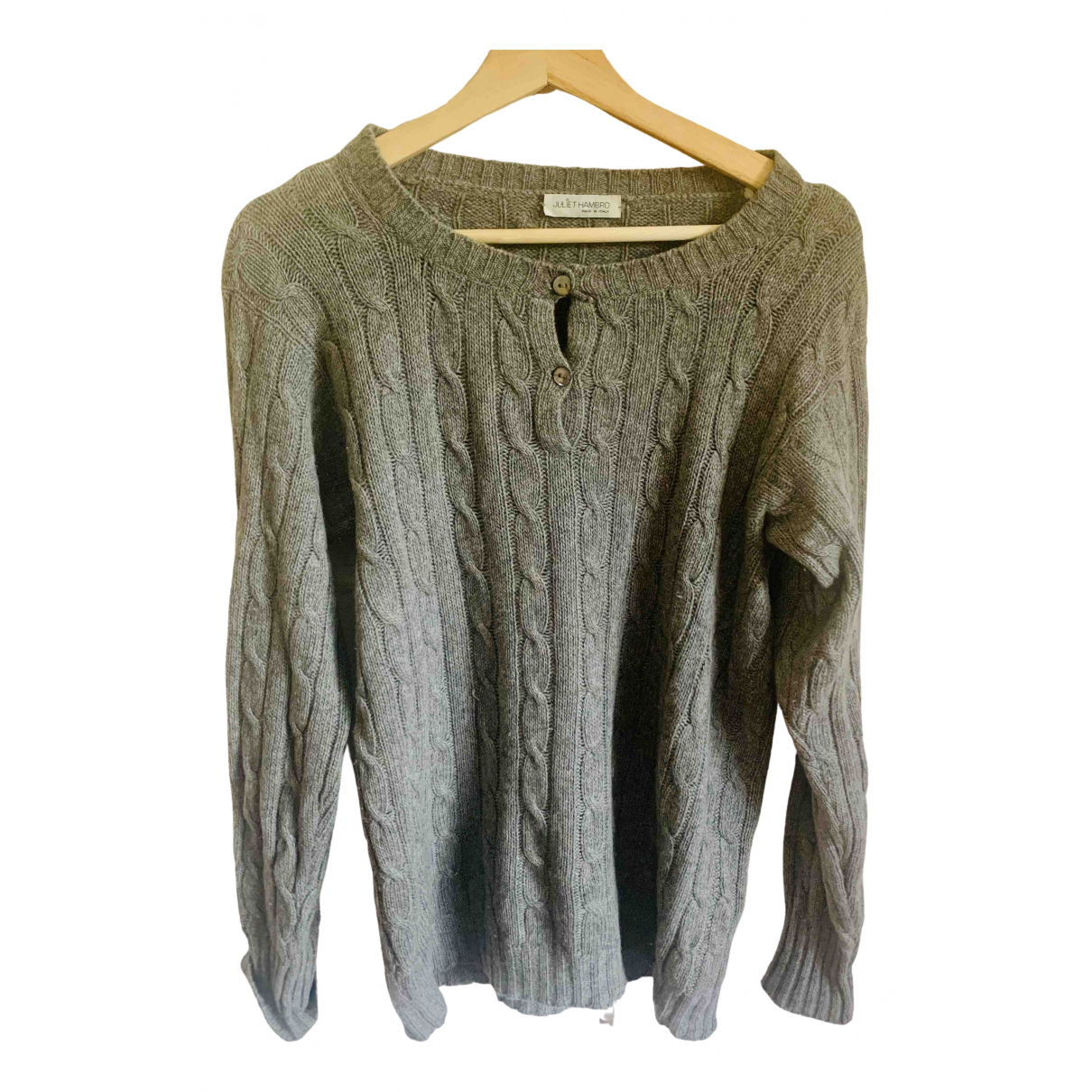 Non Signé / Unsigned N Grey Cashmere Knitwear for Women L International