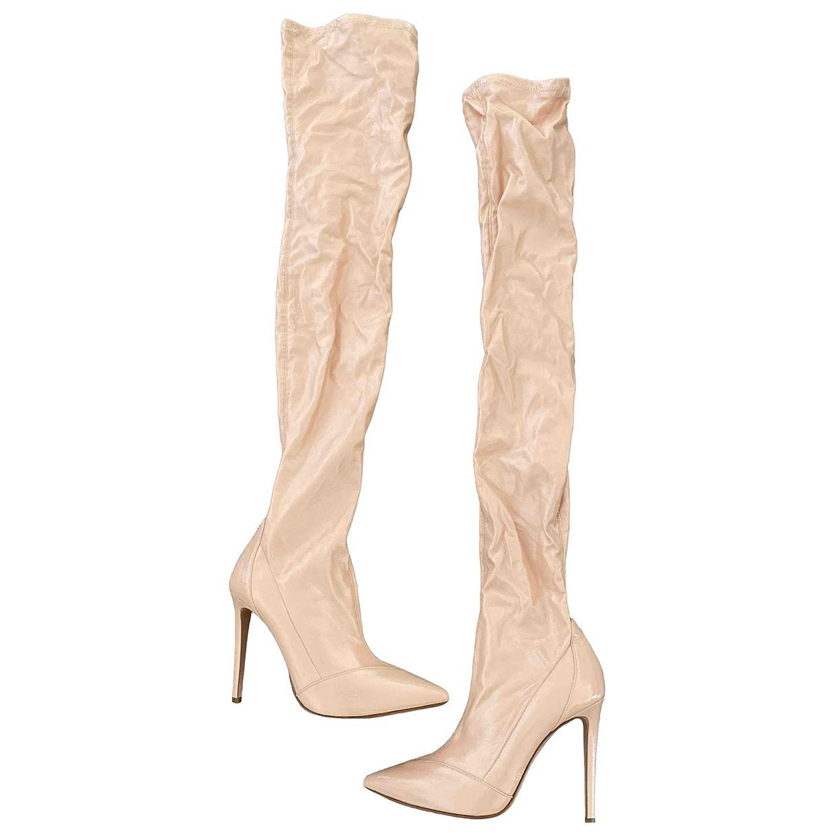 Elisabetta Franchi \N Pink Boots for Women 38 EU