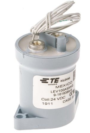 TE Connectivity Contactor Relay - 1NO, 100 A Contact Rating