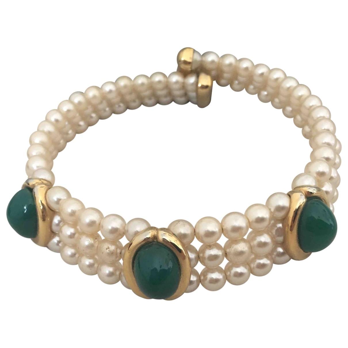 Francesca Romana - Collier   pour femme en perles - dore