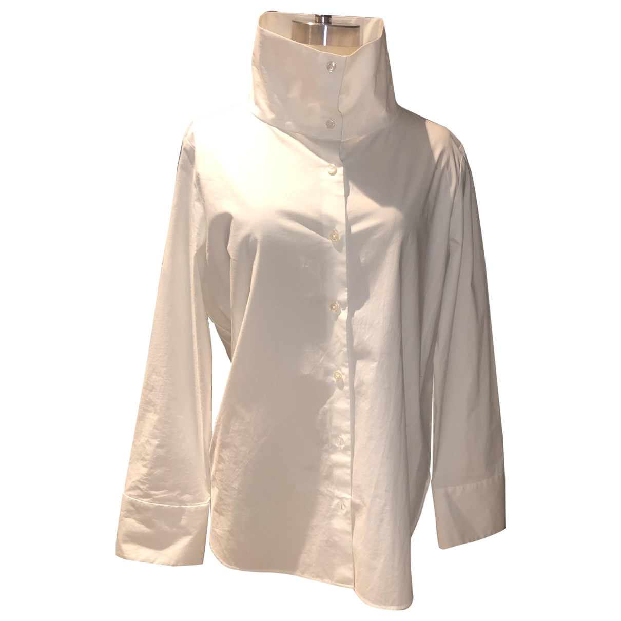 Cos \N White Cotton  top for Women 38 IT