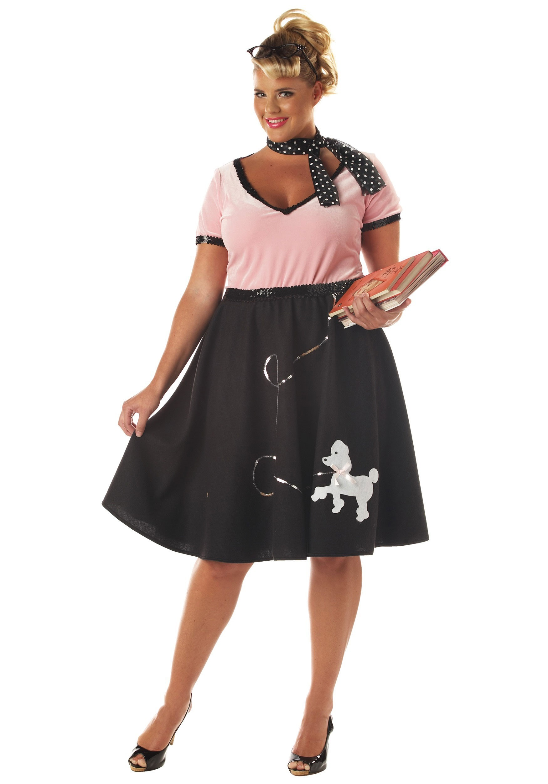 50s Sweetheart Plus Size Costume for Women