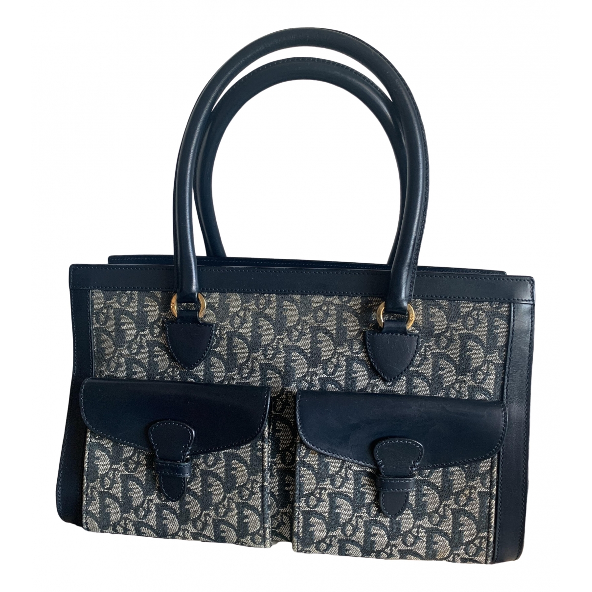 Dior \N Navy Cloth handbag for Women \N