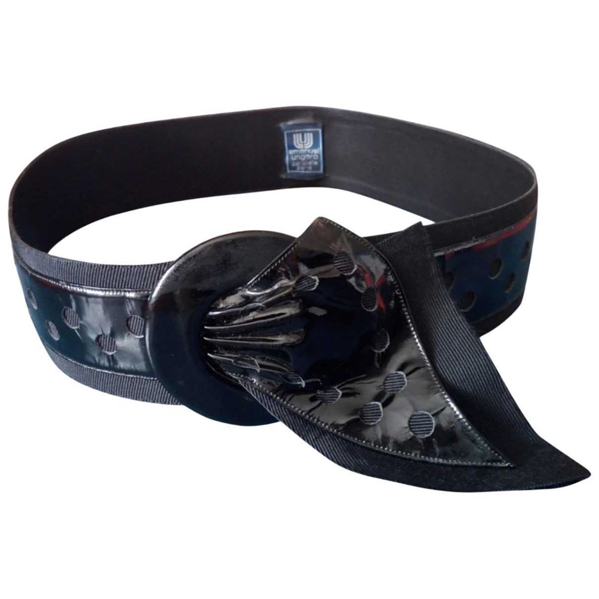 Cinturon de Charol Emanuel Ungaro