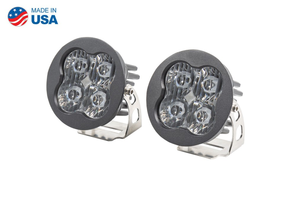 Diode Dynamics DD6144P Worklight SS3 Pro White SAE Driving Round Pair
