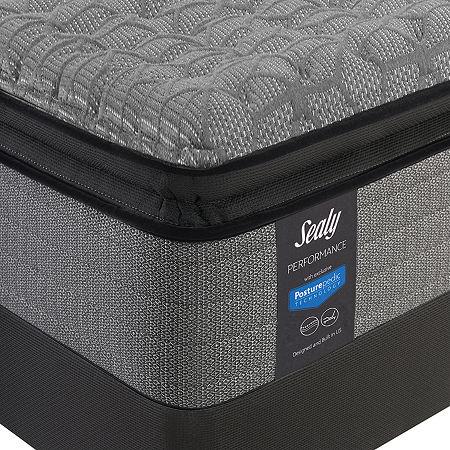 Sealy Posturepedic Humbolt Ltd Firm Pillow Top - Mattress + Box Spring, One Size , White