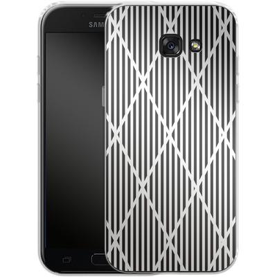 Samsung Galaxy A5 (2017) Silikon Handyhuelle - Black Diamonds von caseable Designs