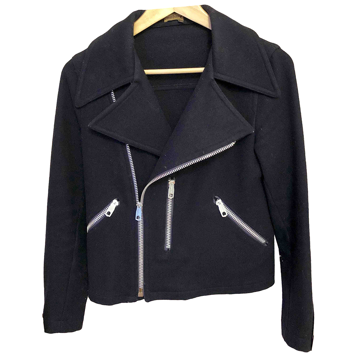 Non Signé / Unsigned \N Blue Wool jacket for Women XS International